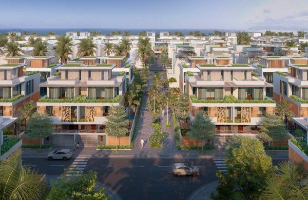 Coral Hawaii - Biệt thự phong cách san hô của tập đoàn Tân Á Đại Thành
